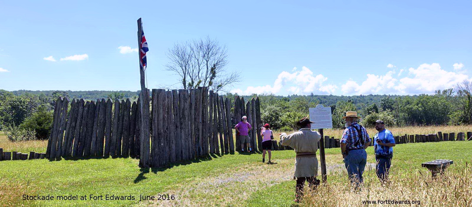 Stockade Reconstruction at Fort Edwards