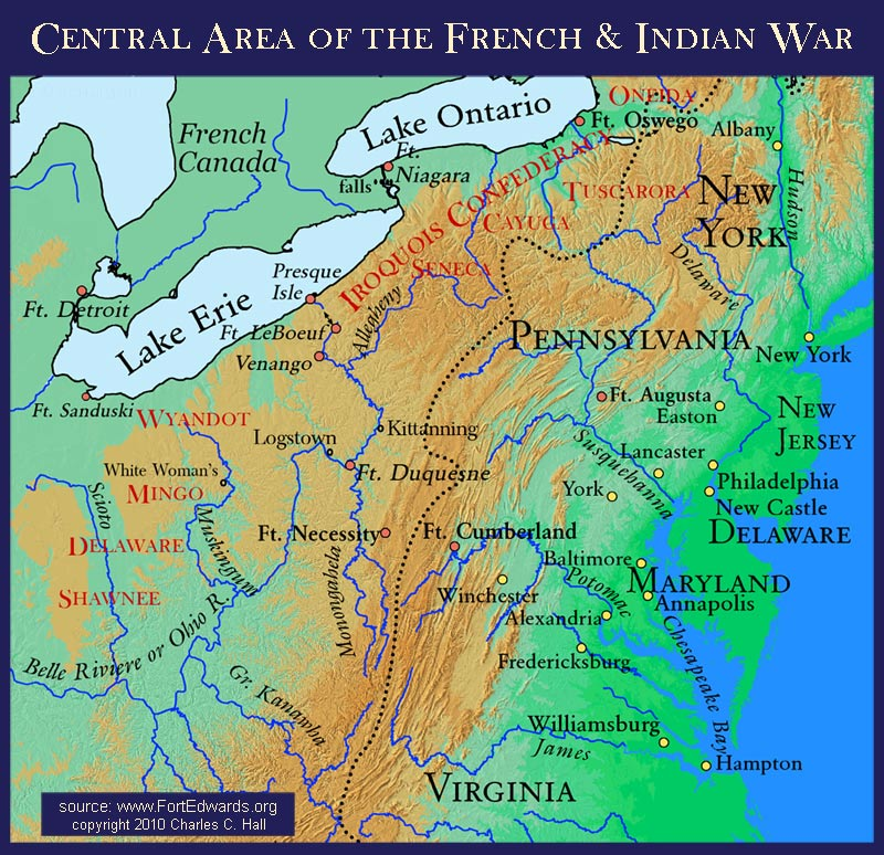 French and Indian War Campaigns